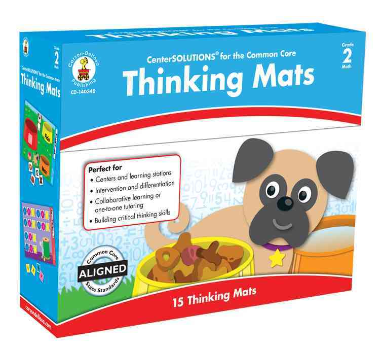 Thinking Mats Classroom Support Materials, Grade 2 By Carson-Dellosa Publishing Company, Inc. (COR)